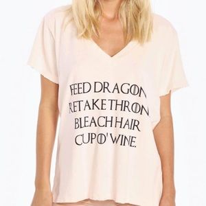 WildFox Game of Throne Daenerys Tee Small 🐉